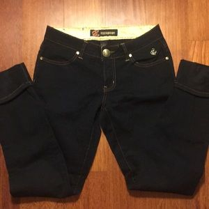 ROCAWEAR Black Straight Leg Jeans